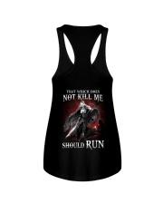 That Does Not Kill Shieldmaiden Should Run Ladies Flowy Tank thumbnail
