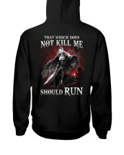 That Does Not Kill Shieldmaiden Should Run Hooded Sweatshirt back