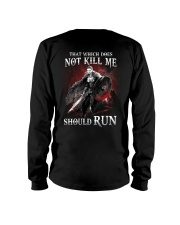 That Does Not Kill Shieldmaiden Should Run Long Sleeve Tee thumbnail