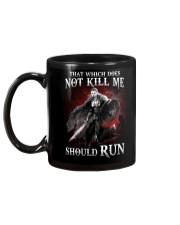 That Does Not Kill Shieldmaiden Should Run Mug tile