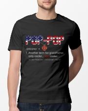 Firefighter Pop Pop Pride Classic T-Shirt lifestyle-mens-crewneck-front-13