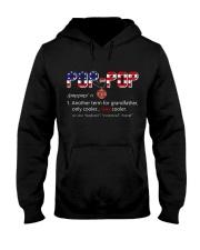 Firefighter Pop Pop Pride Hooded Sweatshirt thumbnail