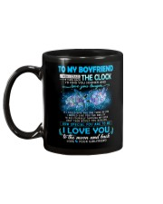 Turtle Boyfriend Clock Ability Moon Mug back