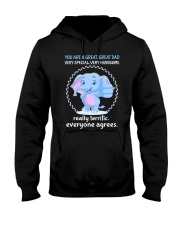 Great Dad Elephant Hooded Sweatshirt thumbnail