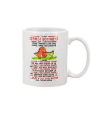 Dinosaur Boyfriend I Love You Most Mug Mug front