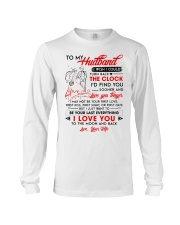 Family Husband Clock Everything Moon Long Sleeve Tee thumbnail