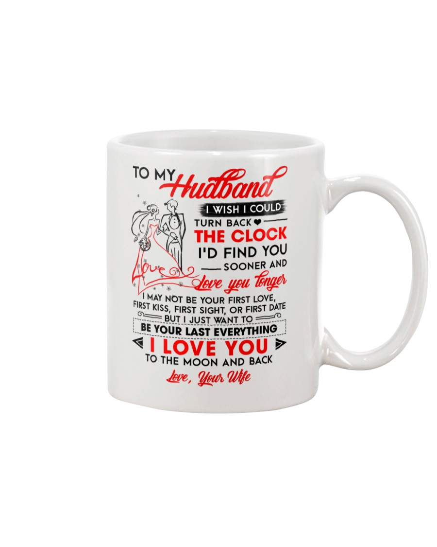 Family Husband Clock Everything Moon Mug