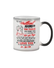 Family Husband Clock Everything Moon Color Changing Mug thumbnail