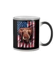 American Flag Elephant Color Changing Mug thumbnail