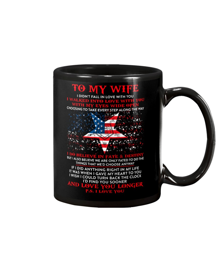 Freemason Wife Believe In Fate Destiny Mug