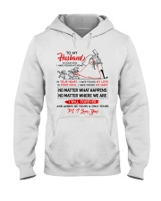 Family Husband In Your Eyes I Have Found My Home Hooded Sweatshirt thumbnail