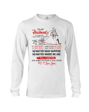 Family Husband In Your Eyes I Have Found My Home Long Sleeve Tee thumbnail