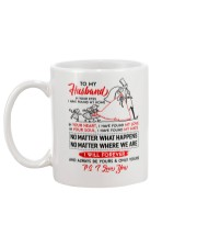 Family Husband In Your Eyes I Have Found My Home Mug back