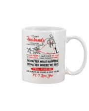Family Husband In Your Eyes I Have Found My Home Mug front