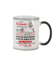 Family Husband In Your Eyes I Have Found My Home Color Changing Mug thumbnail