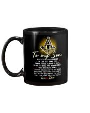 Freemason Son Dad Always Be Safe Mug back