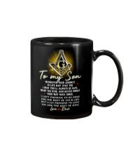 Freemason Son Dad Always Be Safe Mug front