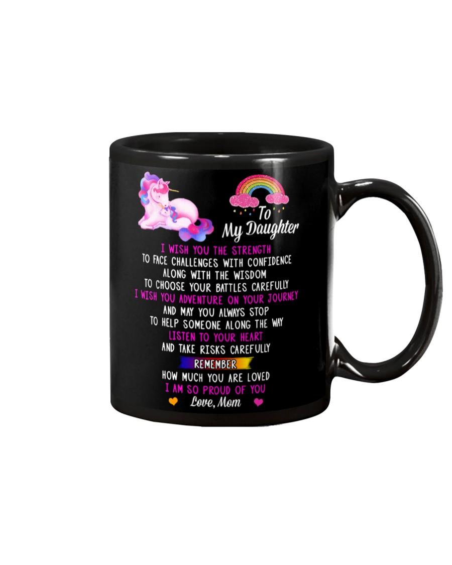 Mom's Words To Unicorn Daughter Mug