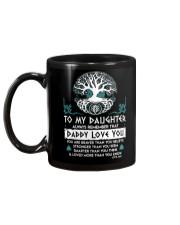 Viking Daddy Loves You Daughter Dad Mug back