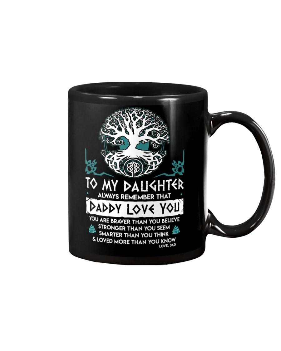 Viking Daddy Loves You Daughter Dad Mug
