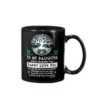 Viking Daddy Loves You Daughter Dad Mug front