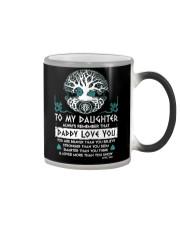 Viking Daddy Loves You Daughter Dad Color Changing Mug thumbnail