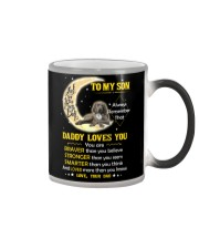 Weimaraner Son Dad Daddy Loves You Color Changing Mug thumbnail