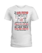 Hands Of Times Girlfriend  Ladies T-Shirt thumbnail