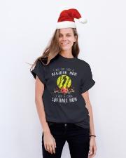 Softball mom Classic T-Shirt lifestyle-holiday-crewneck-front-1