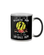 Softball mom Color Changing Mug thumbnail