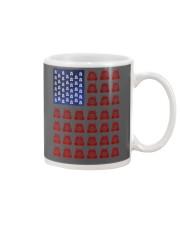 Trucker American flag shirt Mug thumbnail