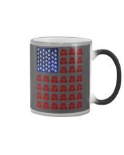 Trucker American flag shirt Color Changing Mug thumbnail