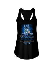 Wolf Dad Daughter Don't Forget I Love You Ladies Flowy Tank thumbnail