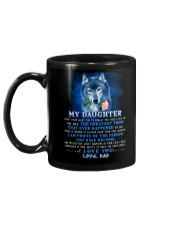 Wolf Dad Daughter Don't Forget I Love You Mug back