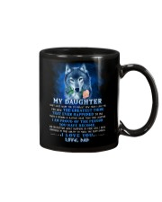 Wolf Dad Daughter Don't Forget I Love You Mug front
