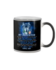 Wolf Dad Daughter Don't Forget I Love You Color Changing Mug thumbnail