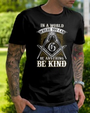 Freemason Be Kind Classic T-Shirt lifestyle-mens-crewneck-front-7