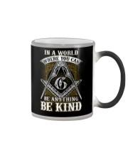 Freemason Be Kind Color Changing Mug thumbnail