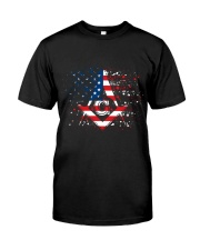Freemason Happy Independence Day Classic T-Shirt front