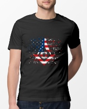 Freemason Happy Independence Day Classic T-Shirt lifestyle-mens-crewneck-front-13