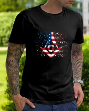 Freemason Happy Independence Day Classic T-Shirt lifestyle-mens-crewneck-front-7
