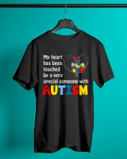 My Heart Touched By autism Classic T-Shirt lifestyle-mens-crewneck-front-3