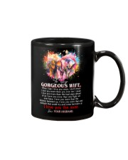 Elephant Wife I love you more Mug front