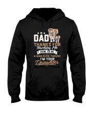 Dad Thank You Elephant Gift  Hooded Sweatshirt thumbnail