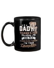 Dad Thank You Elephant Gift  Mug back