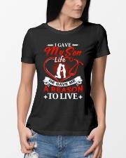 I Gave My Son Life Ladies T-Shirt lifestyle-women-crewneck-front-10