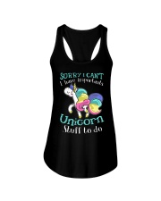 Unicorn Stuff To Do  Ladies Flowy Tank front