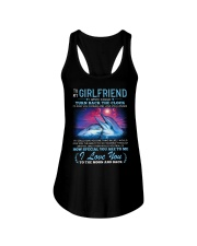 Dolphin Girlfriend Clock Ability Moon Ladies Flowy Tank thumbnail