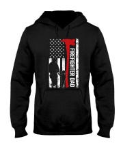 Firefighter dad Hooded Sweatshirt thumbnail