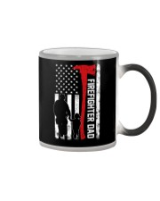 Firefighter dad Color Changing Mug thumbnail